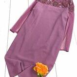 плаття з вишивкою бісером - розмір 16 L