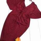 бордове плаття Lipsy- розмір 22 XXL