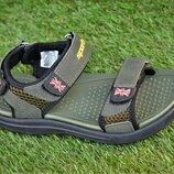 Детские сандалии сандали аналог Adidas хаки р31-36