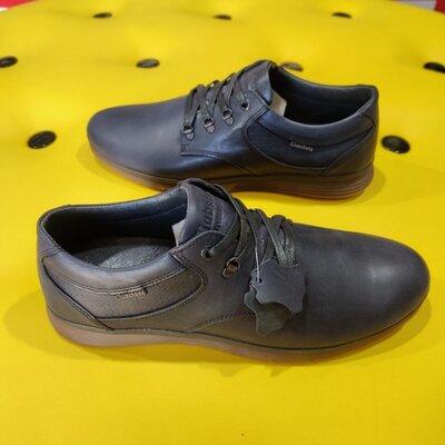 Стильные спортивные туфли из натуральной кожи