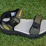 Сандали сандалии босоножки на мальчика хаки р28-33