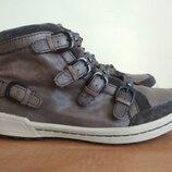 Кожаные ботинки Tamaris р.37