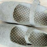 Продам текстильные туфельки 33