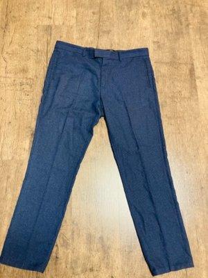 Костюмные модные брюки h&m slim fit р 50-52 в идеальном состоянии