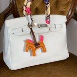 Женская кожаная сумка Hermès Birkin