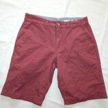 шорты котоновые мужские стильные модные р32 рМ бордовые