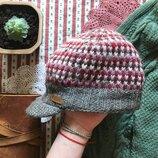 Зимняя теплая кепка кепи шерсть KuSan