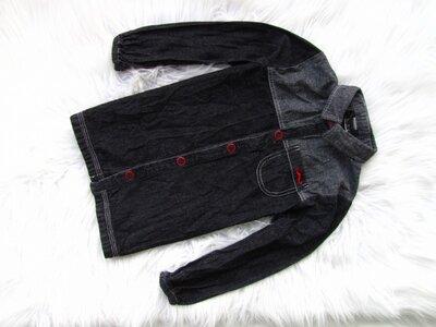 Качественная и стильная джинсовая рубашка Tape a Loeil