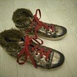Деми ботинки Graceland на девочку, стелька 21см