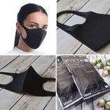 Многоразовая антибактериальная маска - PITTA Mask. 3 шт