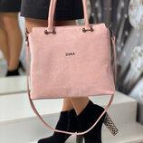 Женская сумка, 4060 замш