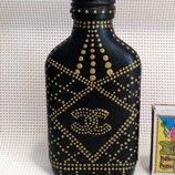 декоративная бутылка декор для спальни кухни в стиле шанель