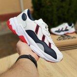 Кроссовки мужские Adidas Ozweego белые