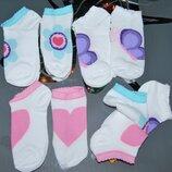 Набор 3 шт летние носки 5-7 лет укороченные Bross