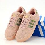 Женские кроссовки Adidas Samba. Pink