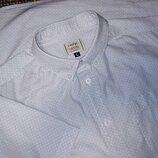1058. Летняя рубашка George с коротким рукавом. Размер L.