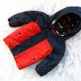 Стильная теплая куртка парка с капюшоном Next
