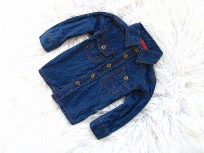Качественная и стильная джинсовая рубашка Early Days Primark