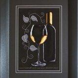 набор вино для вышивания крестом по доступным ценам Наборы фирмы Luca-s