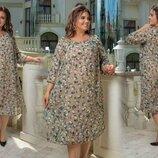 Новиночки Классное платье, размеры 50- 60