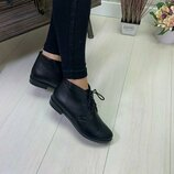 Женские ботинки 36-41р Натур кожа