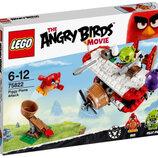 Конструктор LEGO Angry Birds Самолетная атака свинок 75822