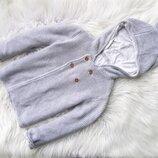 Стильная кофта свитер реглан с капюшоном Marks & Spencer