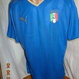 Спортивная оригинал футболка Puma Пума зб Италии .л-хл