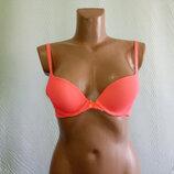 Бюстгальтер пуш-ап яркий Victoria s Secret , р. 32А / 70А