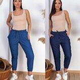 Джинсовые брюки 48-58 р