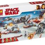Конструктор Lari 10913 Защита Крайта. Звездные воины аналог Lego Star Wars 75202