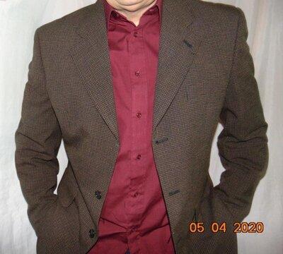 Стильний нарядний деловой фирменний пиджак Winford.52.л