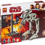 Конструктор Lari 10912 Вездеход AT-ST Первого Ордена. Звездные воины аналог Lego Star Wars 75201