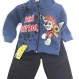 Детский костюм байка 1 и 2 года синий детские костюмы с рисунком утеплённый