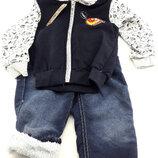 Детский костюм байка 1 год серый детские костюмы с рисунком утеплённый теплый