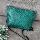 Кожаная сумочка,сумка новая
