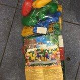 Конструктор зооблок 35 деталей, color plast