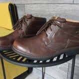 Ботинки clarks active air gore-tex натур. кожа 44-45 размер