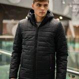 Демисезонная Куртка Temp бренда Intruder черная