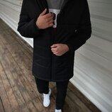 Демисезонная Куртка Fusion бренда Intruder черная