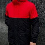 Демисезонная Куртка Waterproof Intruder красно - черный