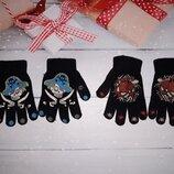 Перчатки на мальчика на 3-5 лет