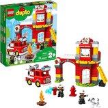Конструктор Лего 10903 Дупло LEGO DUPLO Пожарное депо 76 деталей