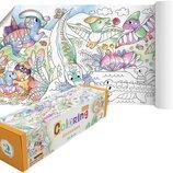 Раскраска Динозавры / Розмальовка Динозаври Додо / Dodo 300328