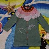 Стильное платье,туника для девочки 3-4 года