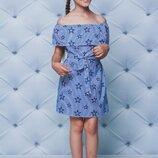 Платье, рост 122, 128, 134, 140, 146, 152 см арт.ML-004/FL-1954/1929-G