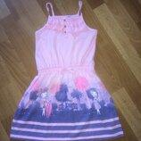 Легкое хлопковое платье George