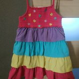 Летнее платье, 3-4 года