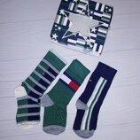 Брендовые высококачественные носки Tommy hilfiger 27-30 комплект