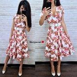 Элегантное красивое платье на лето М66